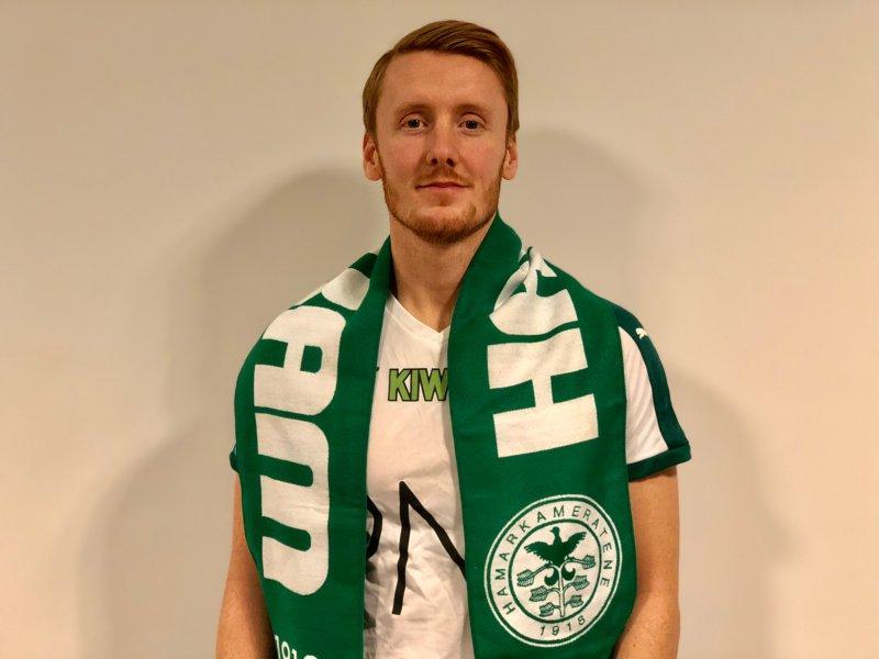 Peder Nersveen har nettopp signert en ett-årsavtale med HamKam