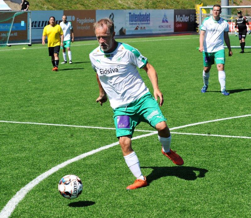 Pål Stensrud scoret kampens siste mål. Foto: Knut Befring.